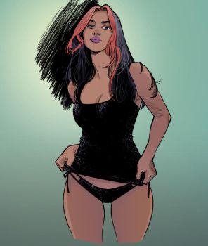 Sexy by Cameron Stewart Color by Chaz West 4-9-17 by ChazWest
