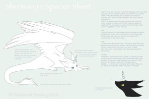 Shennavyre Species Sheet by Kazzi-Kins