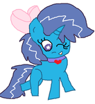 Gift: filly Sorcerus-Horserus by cottoncloudyfilly