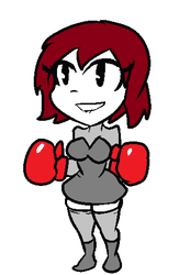 Boxer-Chan by NettoMedley