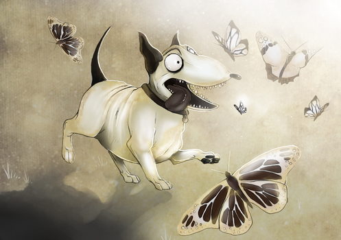 Frankenweenie: The good ol' days by Ink-Leviathan