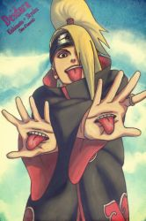 Deidara by DaMecha