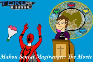 Toku Time Magiranger the Movie by Ajustice90