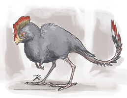 The Greater Derpbird by OnyxSerpent