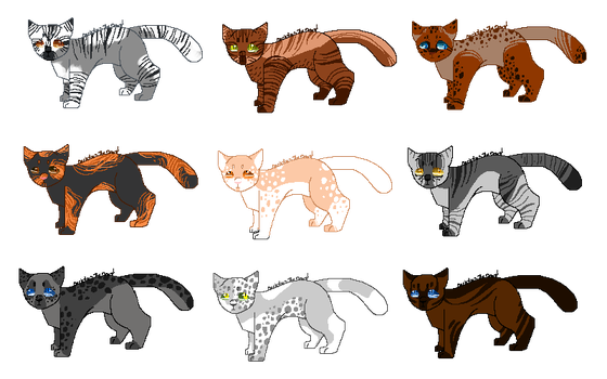 3/9 OPEN Cheap pixel cat adopts by OverLord-Adopts