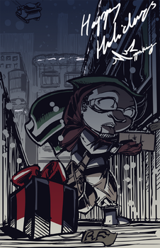The Red Fly: Christmas 2011 by SkipperWing