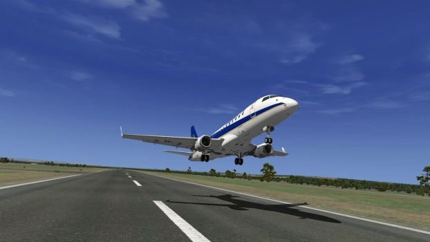 Liftoff! [X-Plane 10] by HYPPthe