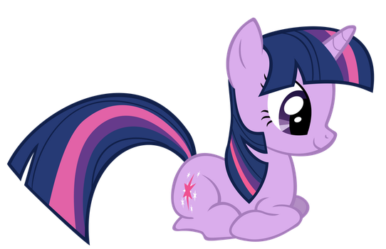 Twilight Sparkle Looking At Something by BoxedSurprise