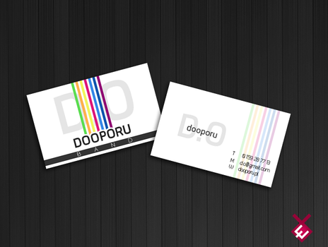 Business Card for music band. by encore13