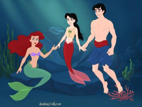 Ariel, Eric and Melody by NzuriNyota