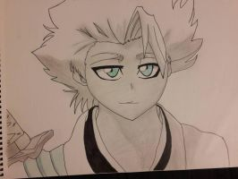 Toshiro Histugaya finished  by SicaChii