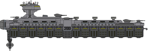 Type 3100 Arsenal Ship by Kelso323