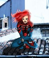 SpiderGirl by jerome13001