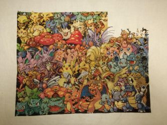 1st Gen Pokemon - 40% achieved by MykaStitcher