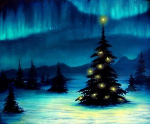 Northern Lights by TreeCree