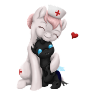 CC-Entry: Let me heal the holes in your heart by SilverWolfEye