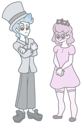 Cappy and Tiara by FlameFyre1235