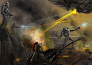 Hold the Line by Progenitor89