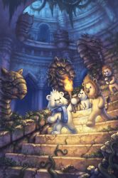 The Castle Stairs by AlvinHew