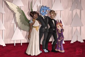 Rad on the Red Carpet by hannahgrace-art