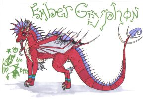 Embers Dragon by dyingbreed666