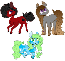 Old Adopts by OrangeJuicee