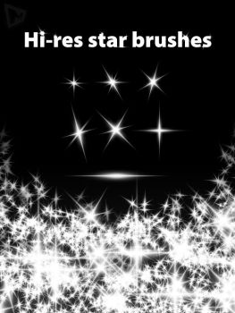 Star Hi-Res Brushes by xplight