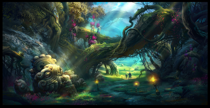 Magic Forest_2 by IvanLaliashvili