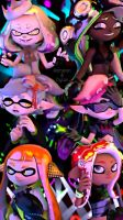 Splatoon 2 by Kameron-Haru