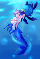 Under the Sea (Mermay) by WorryBot