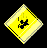 Caution: Falling Angels by MutantPenguin