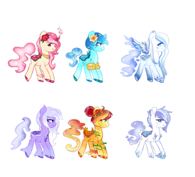 Geode-Pony adopts! 4/5 OPEN by SoloSandwich