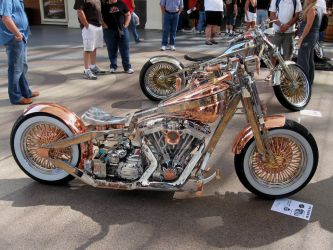 Brass Bobber by atomicgrape