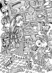 Pandora's 24 hour Pantry by theinkhead