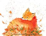 Pile of leaves by ChristinaMandy