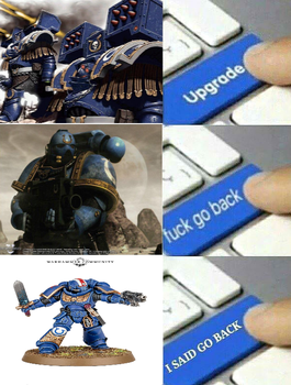 The Ultramarines must be stopped by DeadKnight1