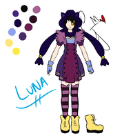 RWBY Oc: Luna Alt Outfit by AlphonseElricsWife