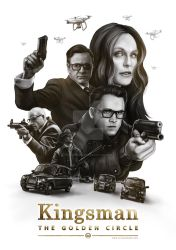 Kingsman: The Golden Circle by catandcrown