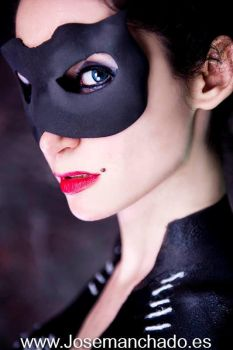 Catwoman Body Paint by Jose Manchado by MorganaCosplay