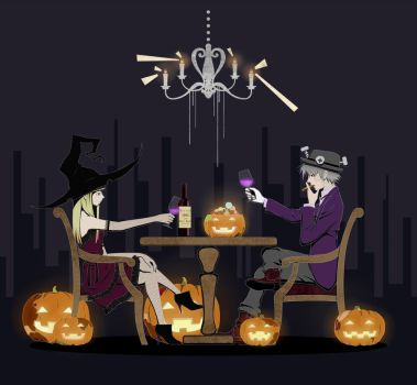 A Toast to Our Happy Halloween. by You-Ta