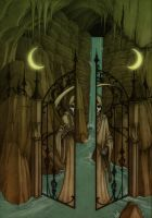 The gate to the Neverafter by CopperAge