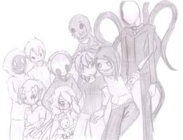 CreepyPasta- proyectto halloween by Assassins-C