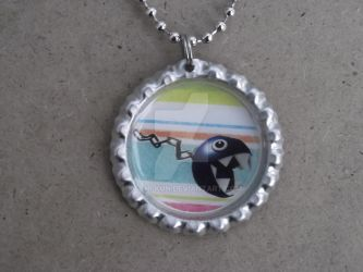Chain chomp necklace by Kashi-kun