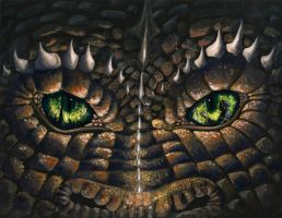 Eyes of the Dragon by OlgaAndreyeva