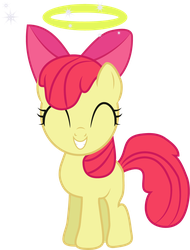 Angel AppleBloom by lilac2012