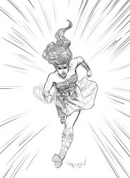 My Drawing of Legend of Wonder Woman by RayDillon