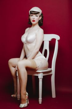 Pinup Girl by chadmichaelward