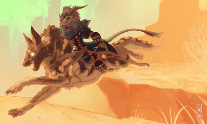 Sherghan's Jackal experience by LiLaiRa