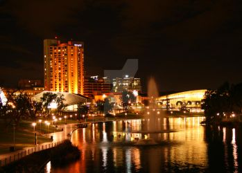 Adelaide City by williamdickeson