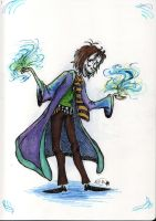 Alpin, the Young Sorcerer by Akyura44